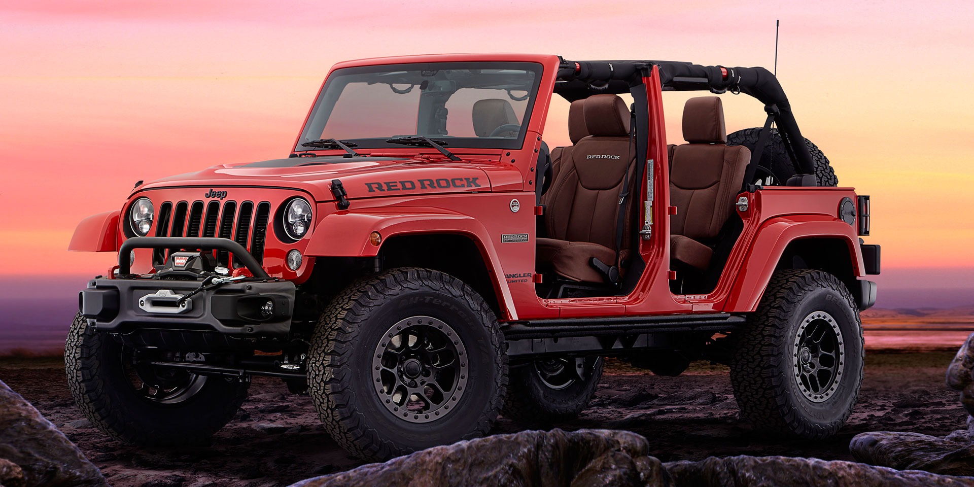 2016 Jeep Wrangler Red Rock