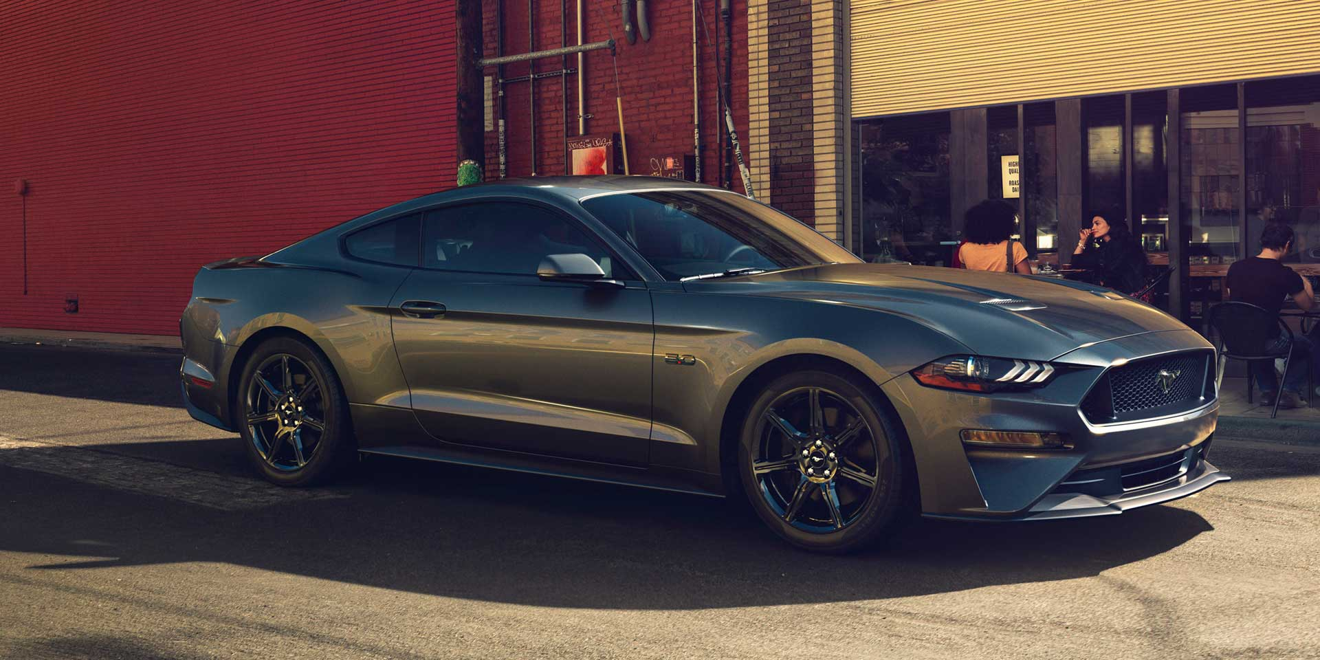 Featured vehicle the 2018 ford mustang